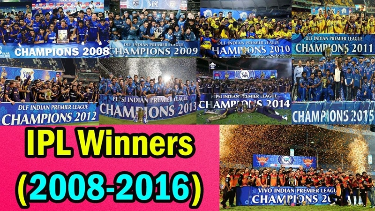IPL flashback: From 2008 to 2017, the 10-year journey