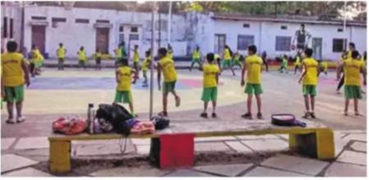 Ujjain: Beating the heat with sport