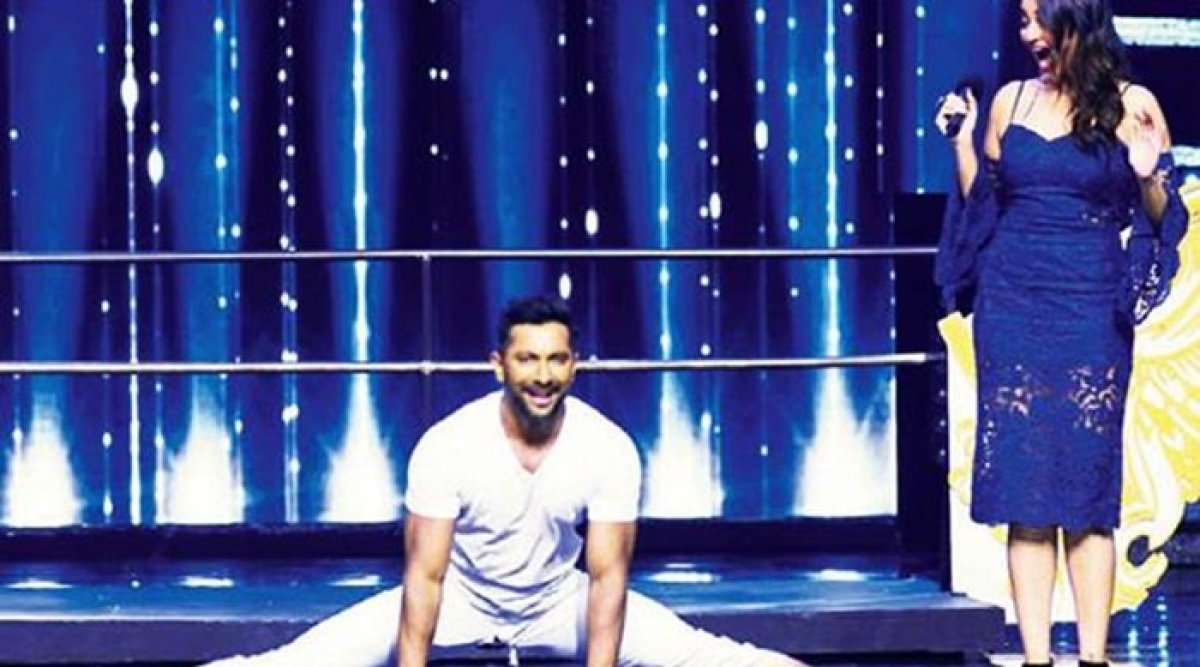 Watch Video: Terence Lewis rips his pant on Nach Baliye sets, Sonakshi Sinha can't stop laughing