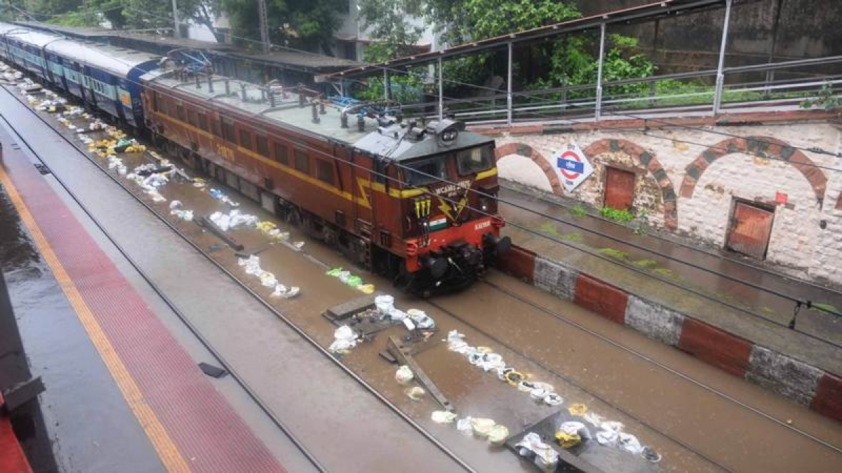 Mumbai Rains: Water-logging in many areas, local trains delayed