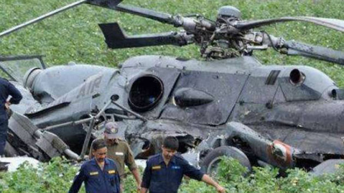 Three killed in UN helicopter crash
