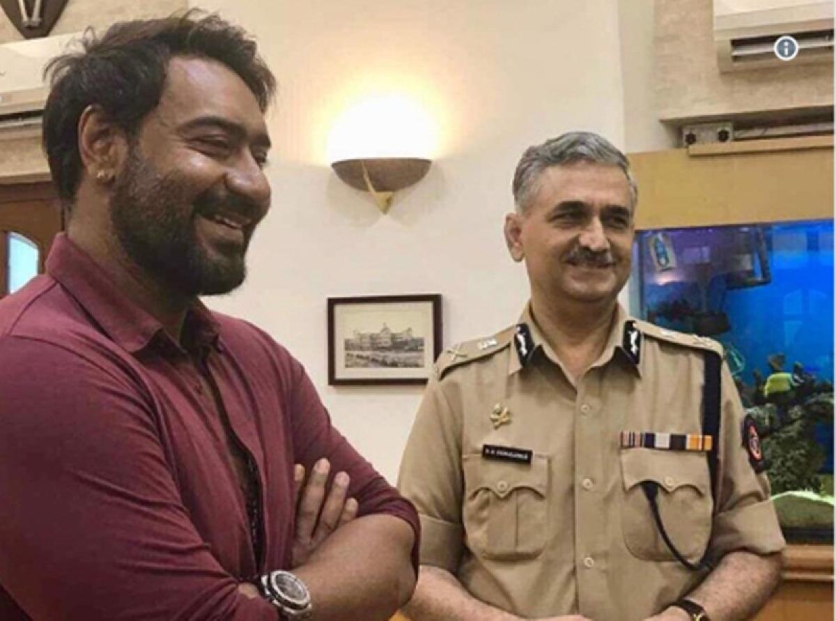 Watch Video: Ajay Devgn tells Mumbaikars how to fight cyber crime