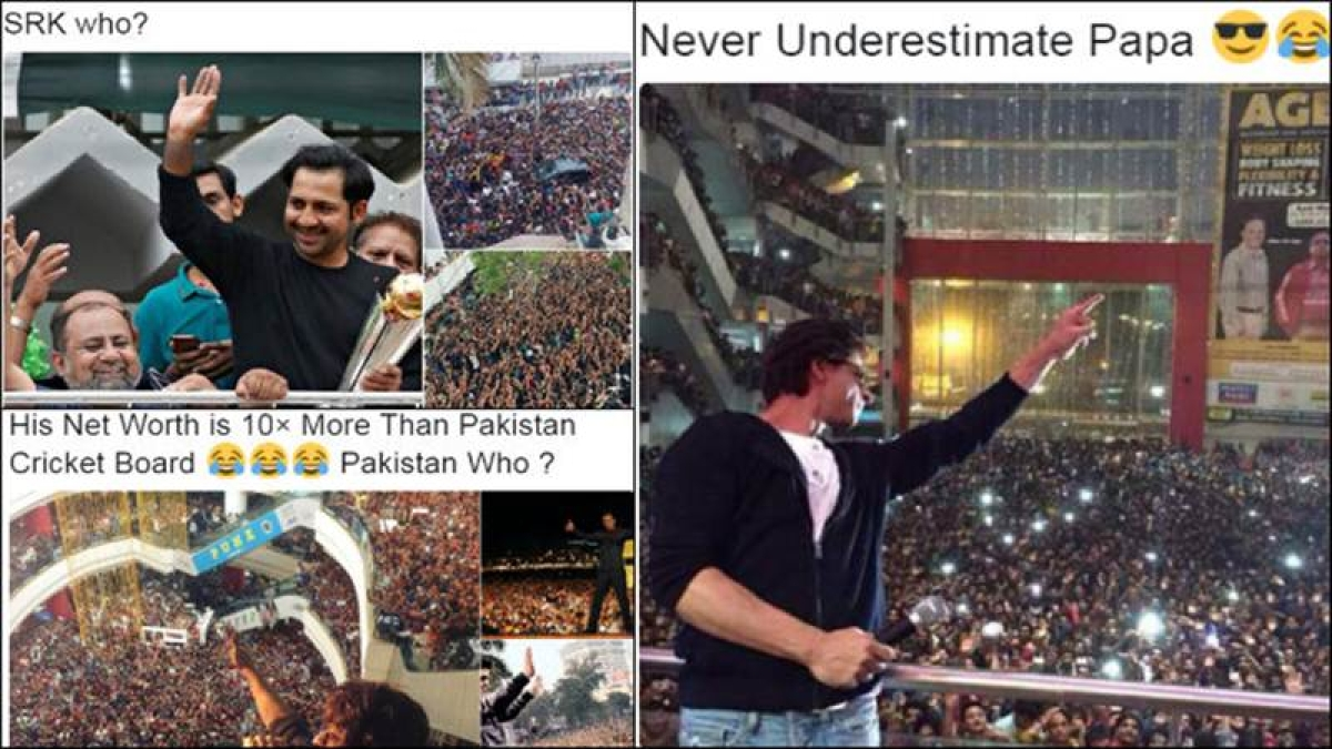 Pak fan takes dig at Shah Rukh Khan after Champions Trophy win, gets slammed by Twitterati