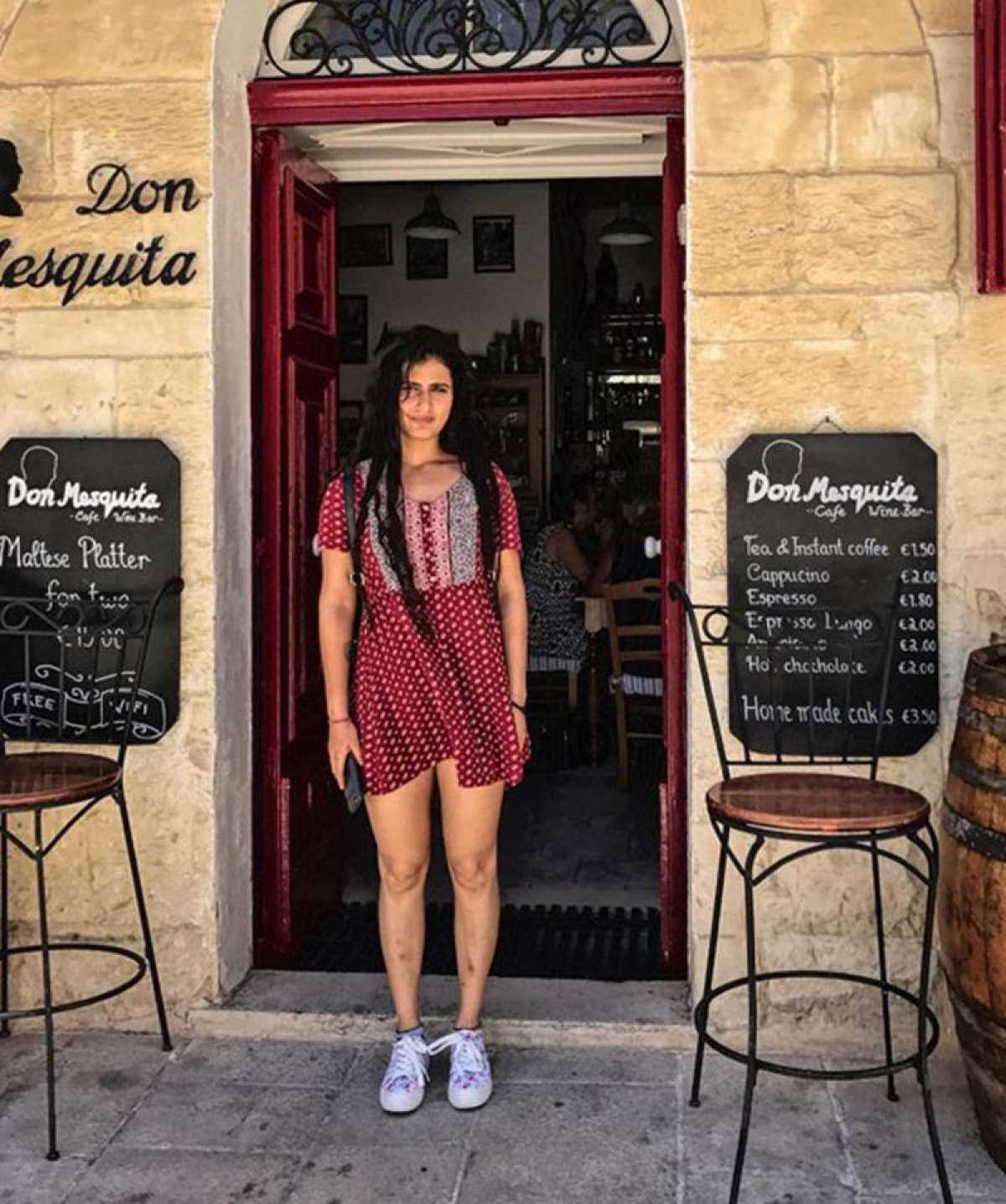 Pictures: Fatima Sana Shaikh is living the Malta life while filming Thugs of Hindostan