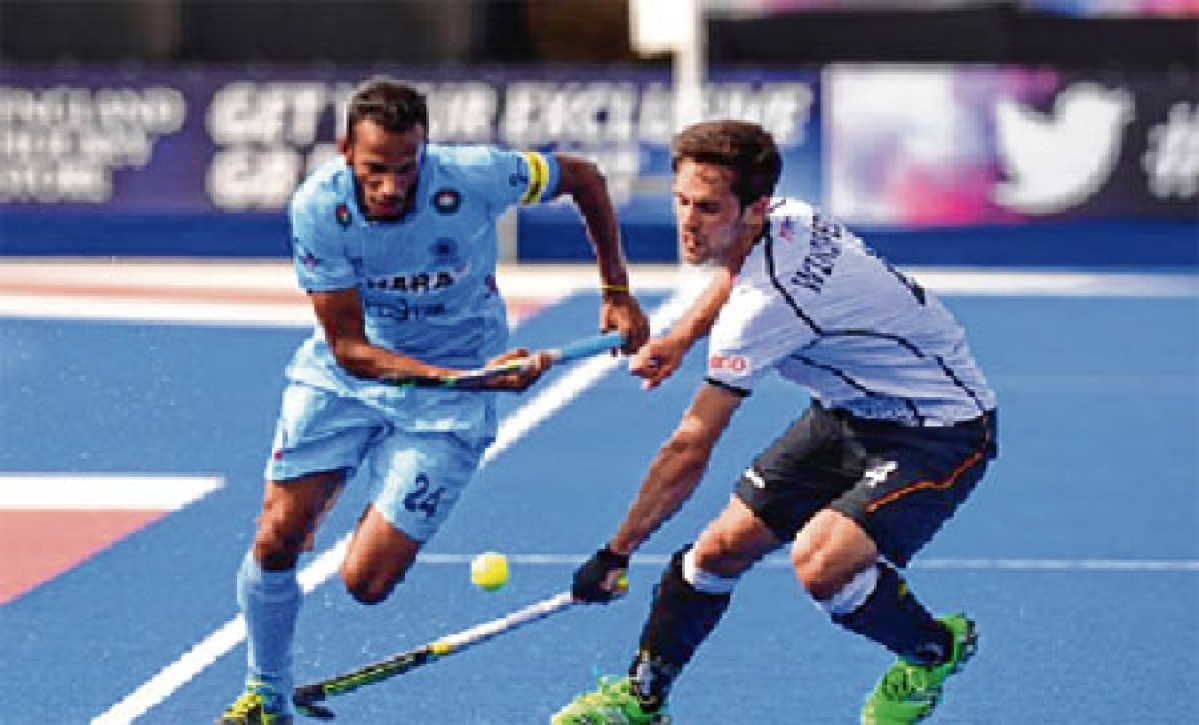 Indian hockey team loses 0-2 to Germany