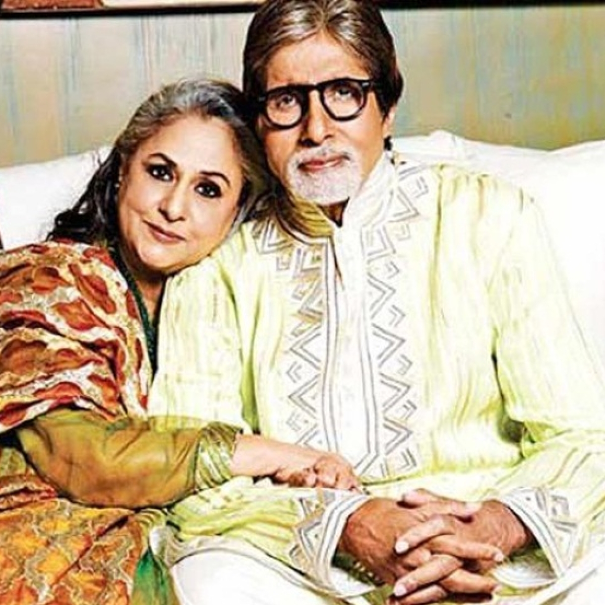 Amitabh Bachchan shares throwback pic of Jaya Bachchan in Swami Vivekanand's avatar