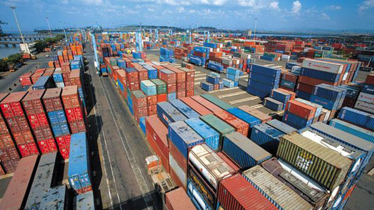 Exports jump 58.23% to record USD 34 billion in March; 7.4% dip in 2020-21