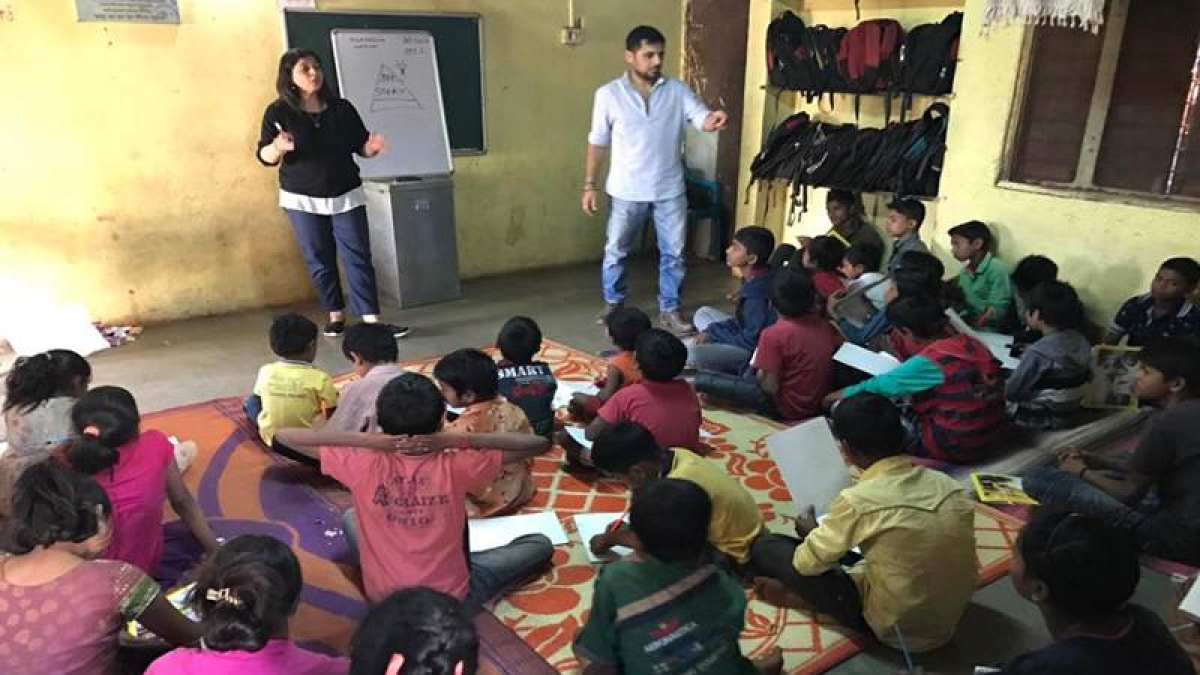 BookASmile promotes film making at the grass root level; supports workshops for lesser fortunate children