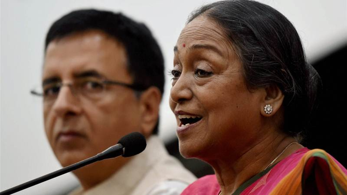 Presidential Election 2017: Opposition candidate Meira Kumar files nomination