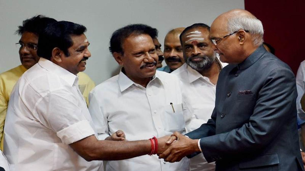 Presidential polls: Tamil Nadu CM extends support to Ram Nath Kovind