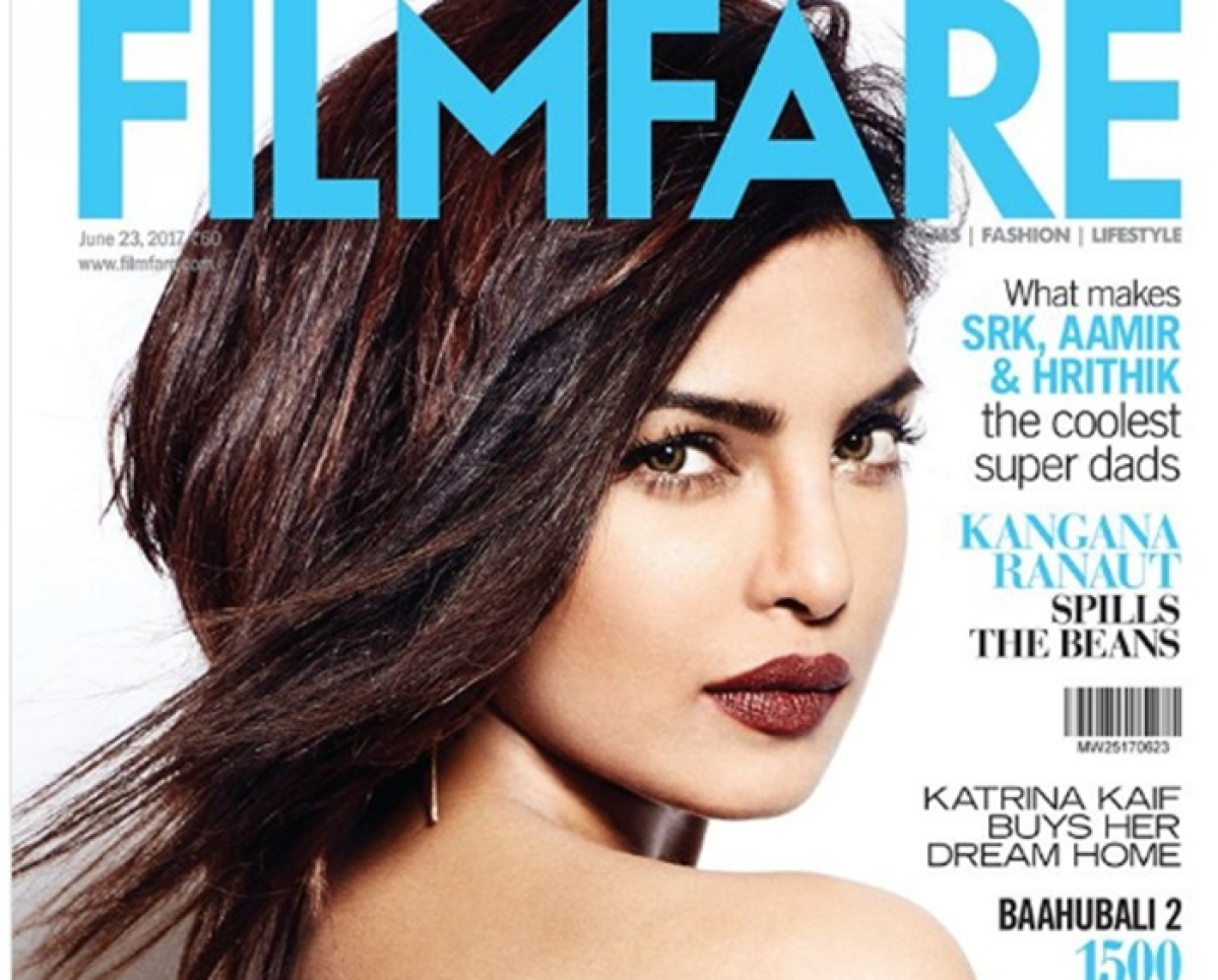 Priyanka Chopra wins over on magazine cover