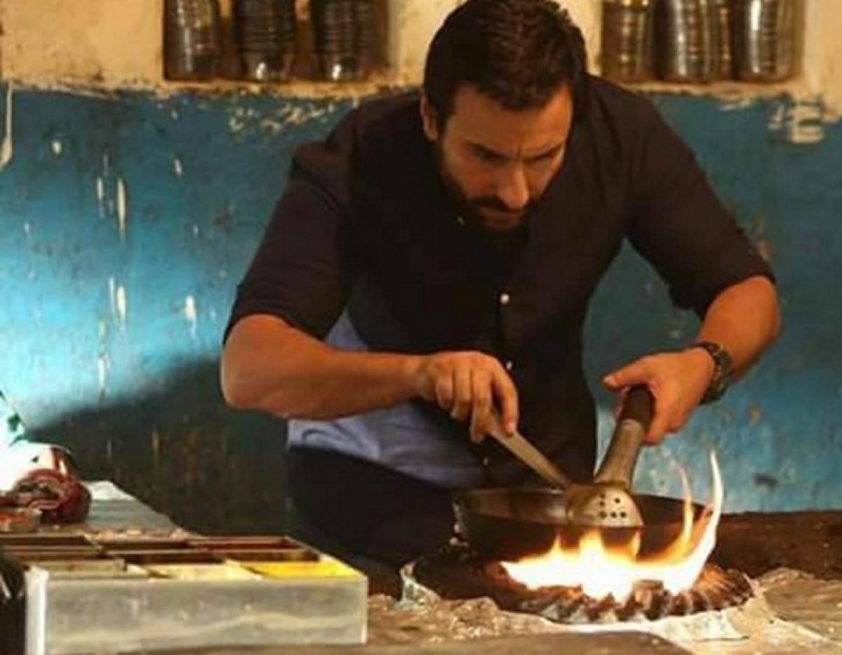 Food and fundas with Saif Ali Khan