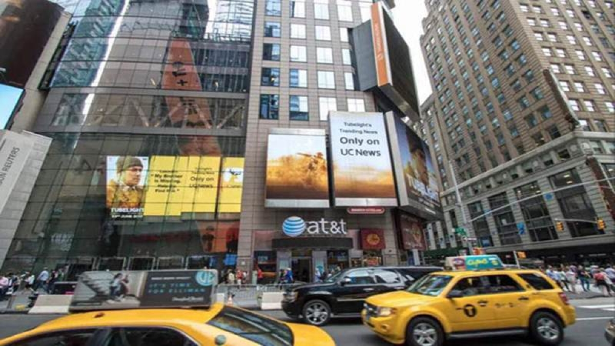 In a first: Salman Khan's Tubelight light up New York City's Times Square