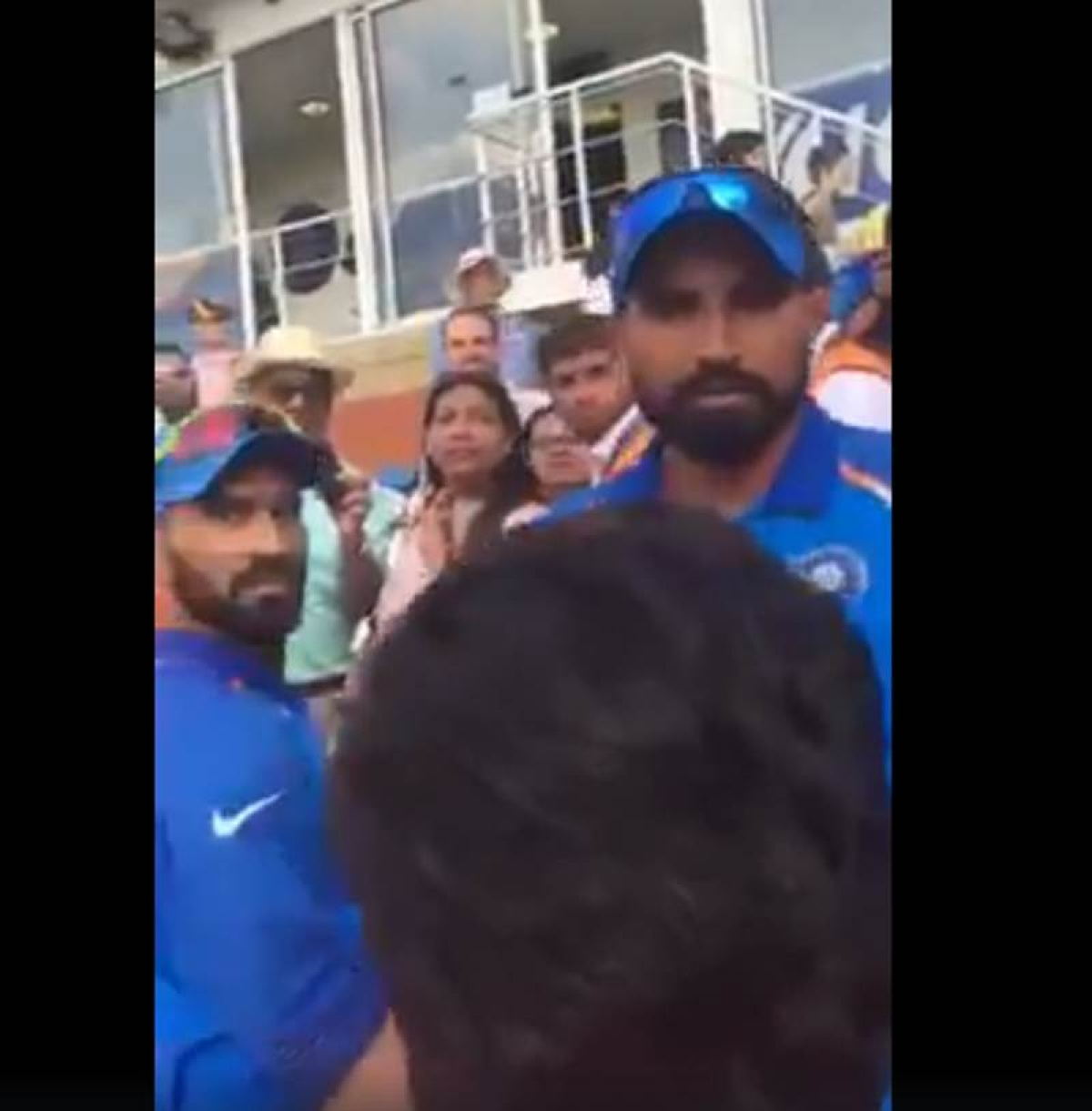 Watch Video: Dhoni plays 'Daddy Cool' as Pakistani fan throws 'baap' taunt at Shami