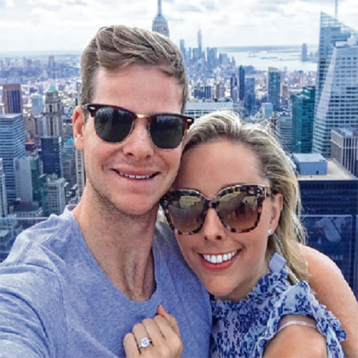 Steve Smith is now officially engaged