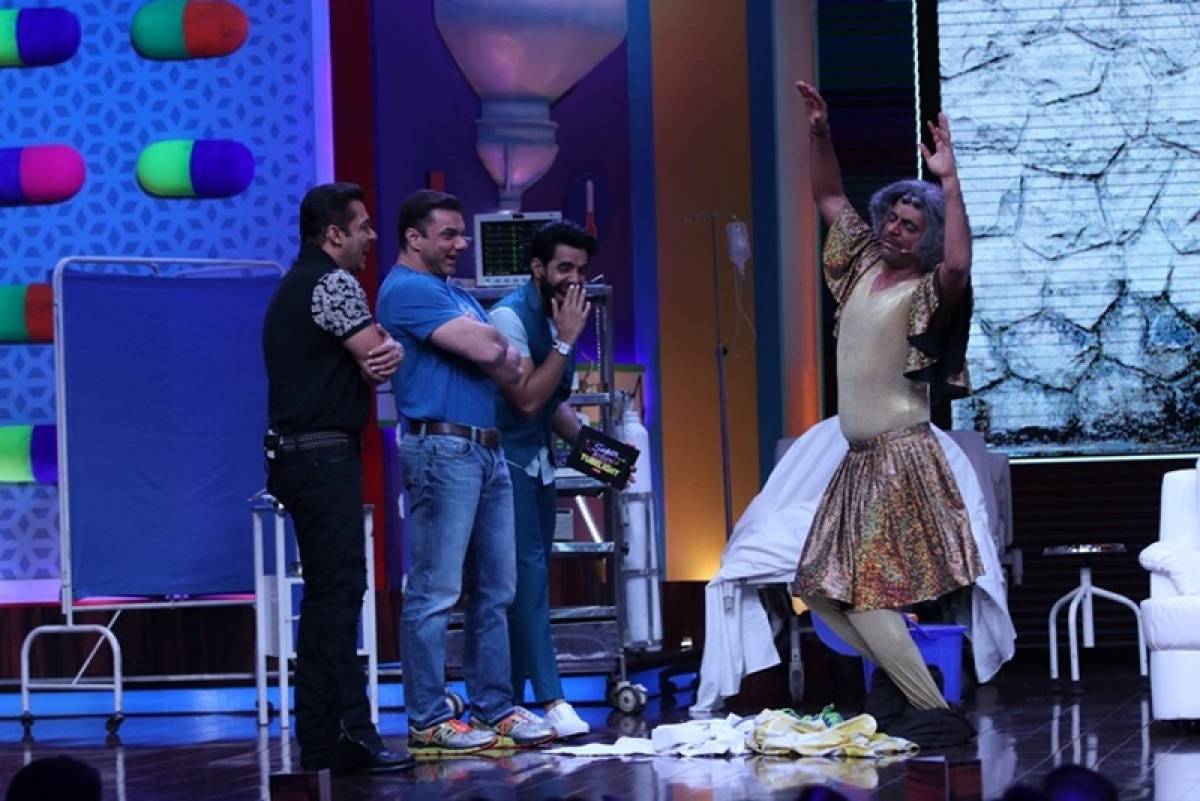 'Super Night with Tubelight': This video proves Salman and Sohail had a great time