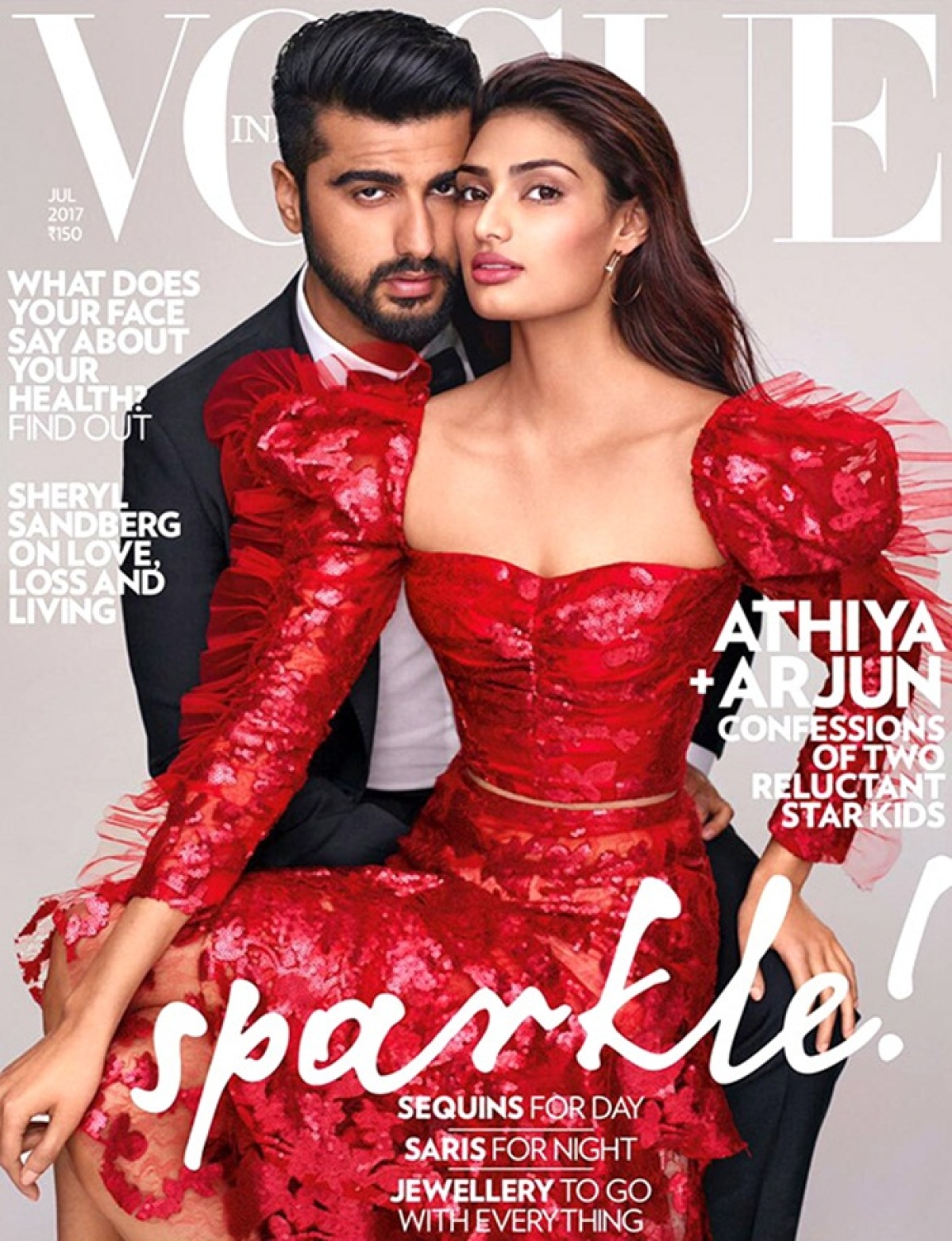 Check out: Arjun Kapoor and Athiya Shetty make a perfect pair on the cover of Vogue India