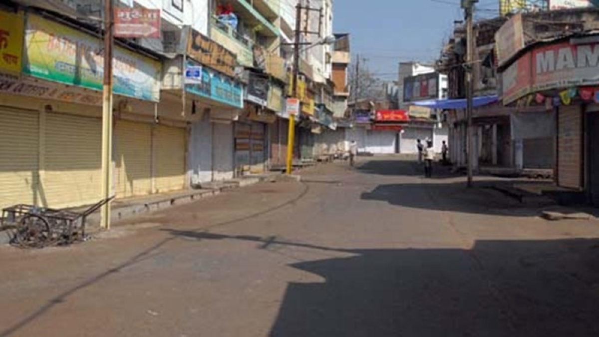 Bhopal: Traders' bandh total in wholesale market, no effect on normal life