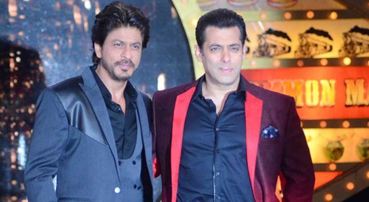 Shah Rukh Khan and Salman Khan