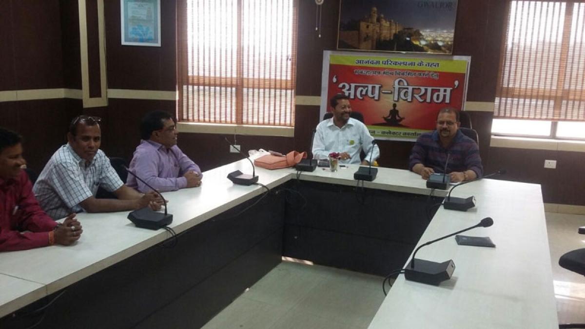 Bhopal: 'Alpviram evam anandam' organised at Secretariat
