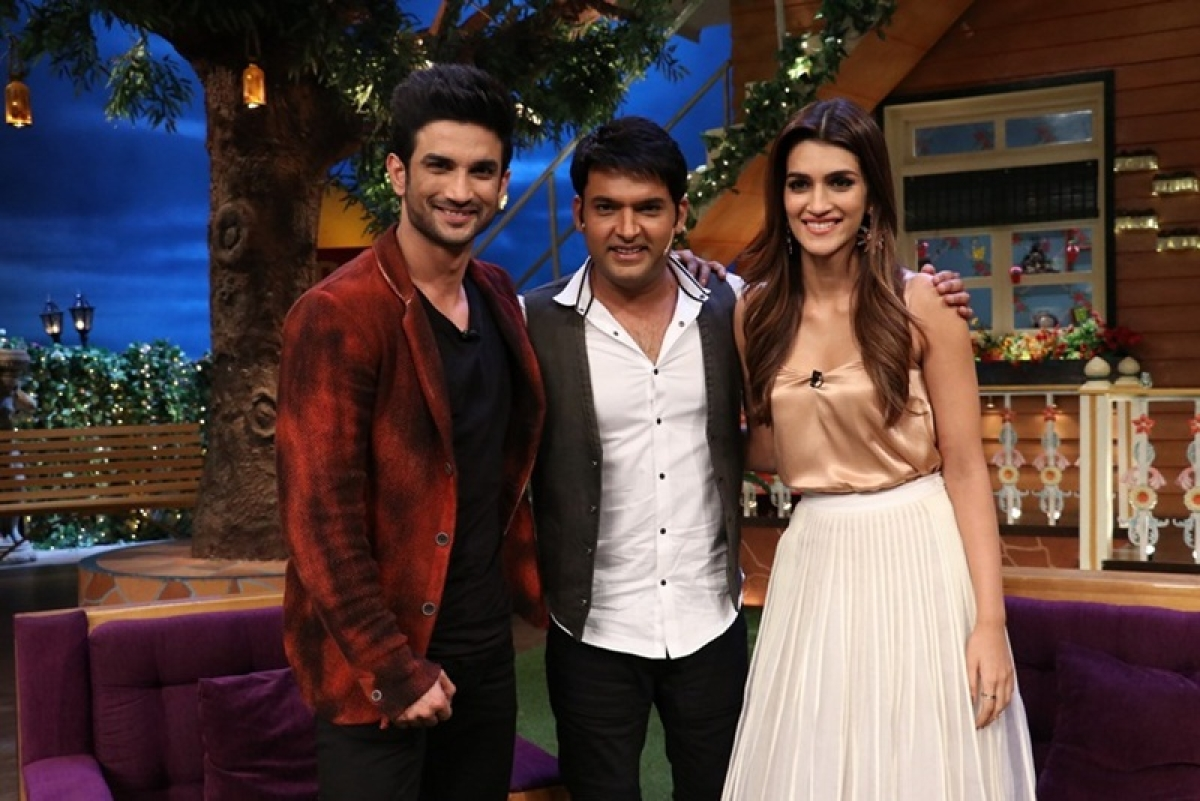 Sushant Singh Rajput sings on 'The Kapil Sharma Show'