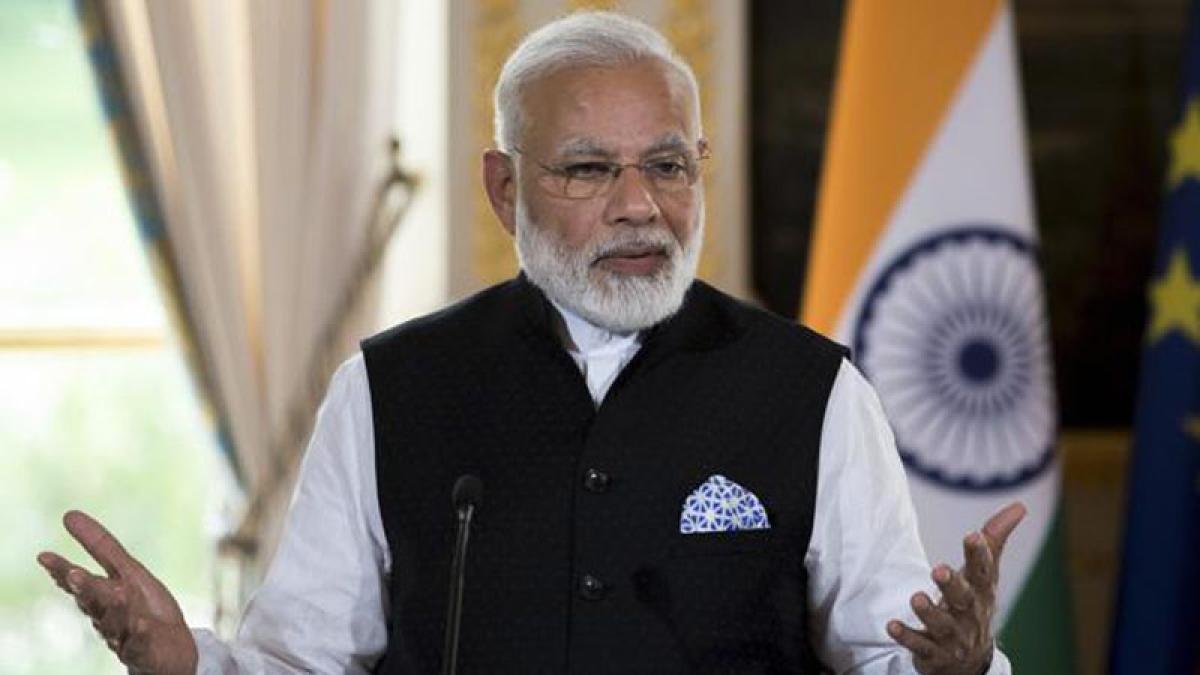 Modi condoles death of former CJI Bhagwati