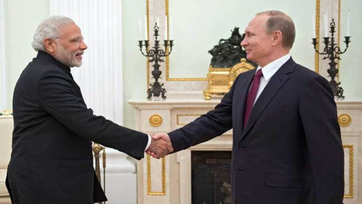Modi gets very personal with Putin
