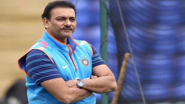 Ravi Shastri applies for head coach's job