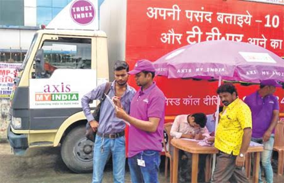 Bhopal: Axis My India's Trust Index centre flagged off
