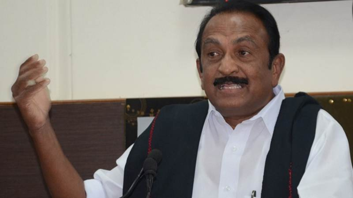 Will stage black flag demo if PM Narendra Modi arrives in Tamil Nadu to launch poll campaign: MDMK chief Vaiko