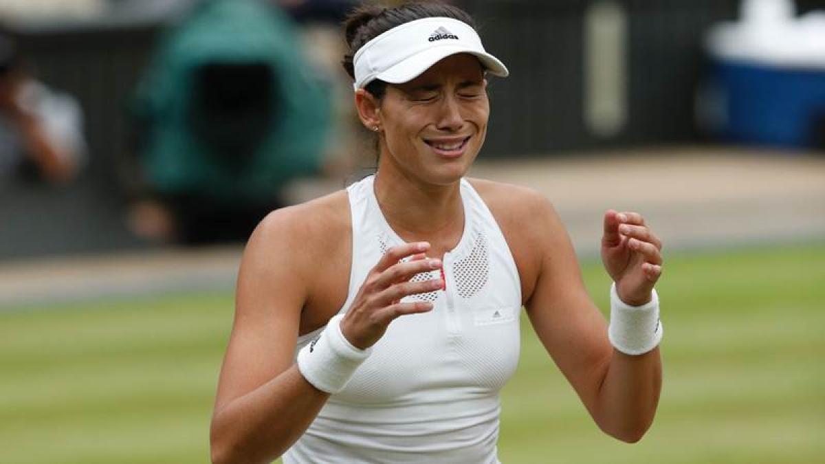 Wimbledon 2018: Defending champion Garbine Muguruza knocked out by world No 47 Alison van Uytvanck