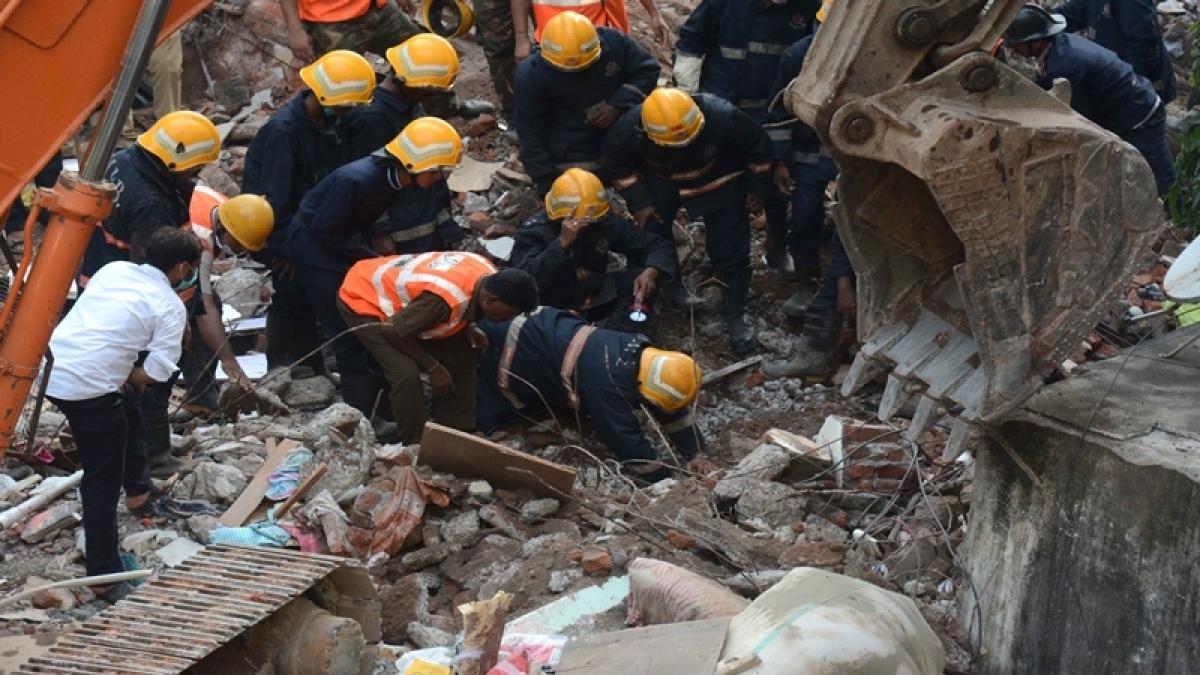 Mumbai: Building collapses in Ghatkopar, 12 dead, 34 injured