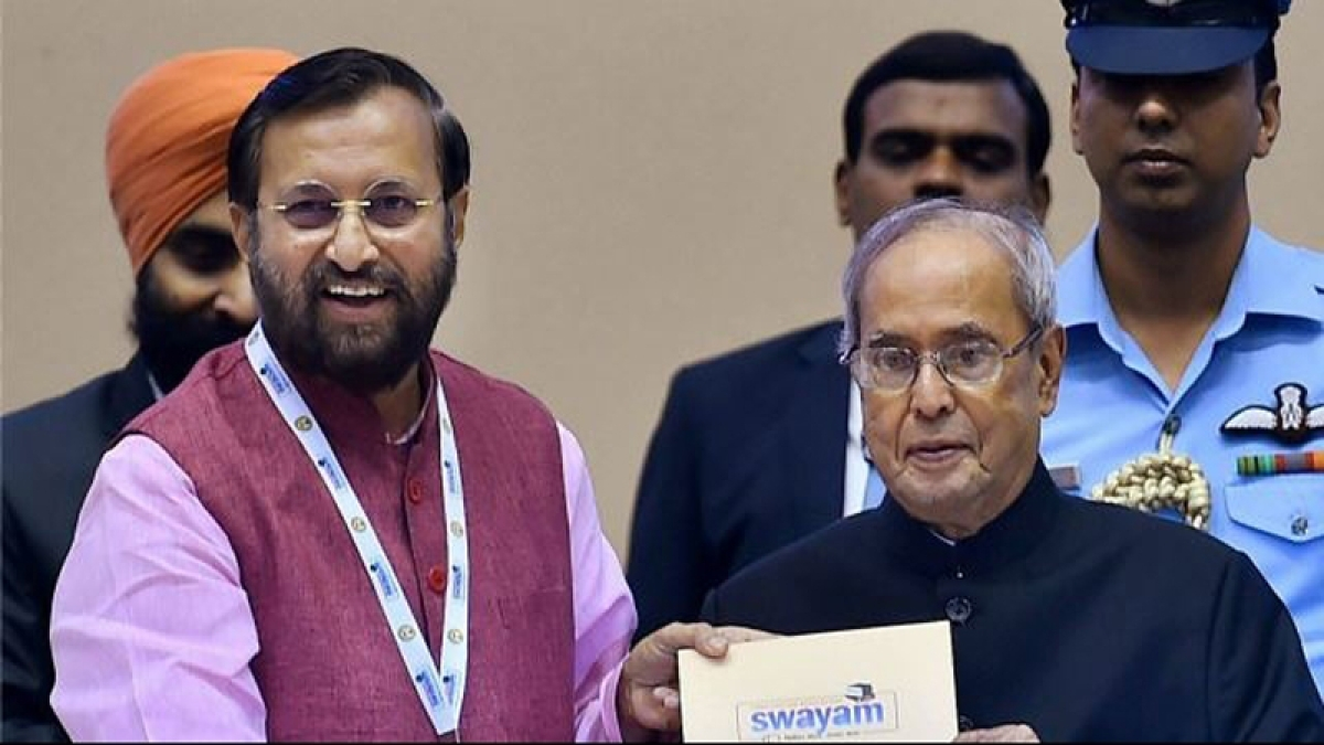 President Pranab Mukherjee launches 3 digital initiatives in education sector
