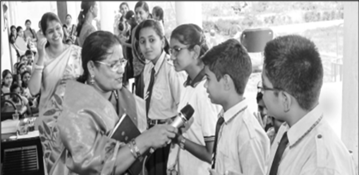 Bhopal: AIS organises talent search competition