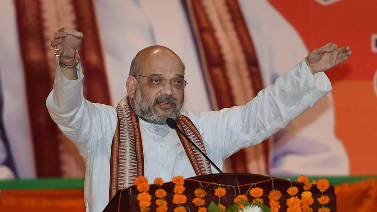 No question of quitting as BJP president, says Amit Shah
