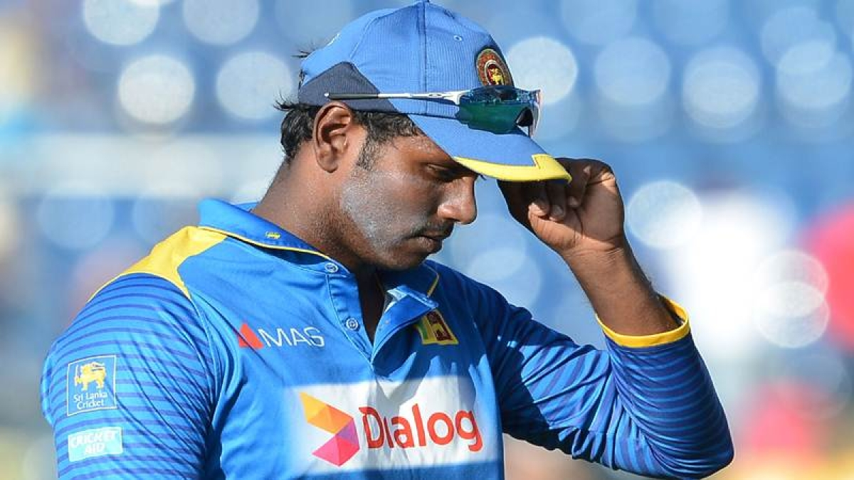 'I've been made a scapegoat', says sacked Sri Lanka captain Angelo Mathews