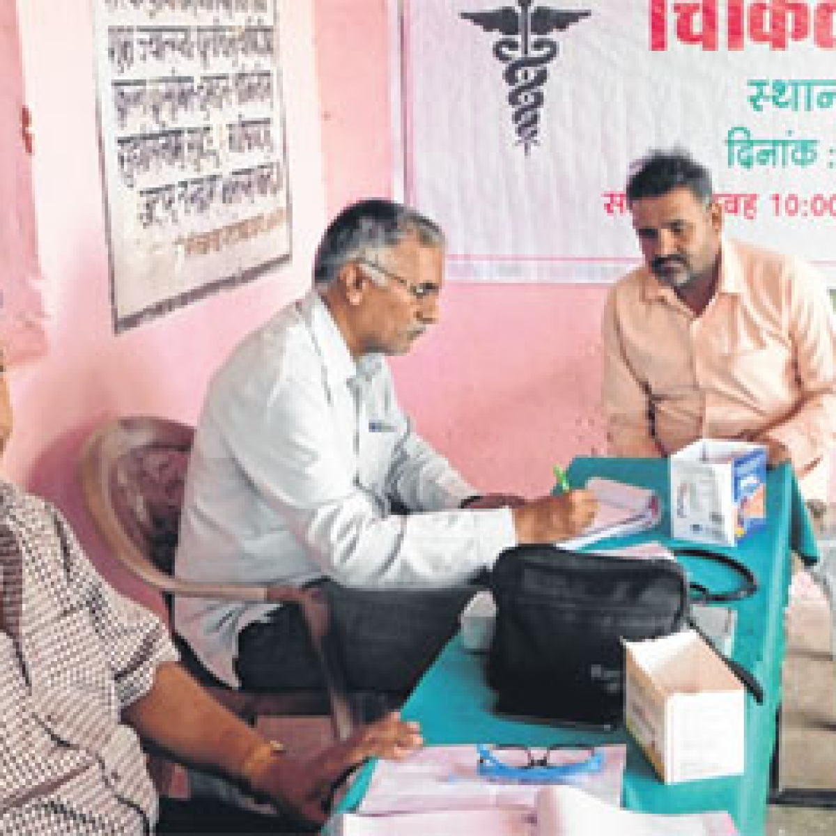 Indore: Free health camp organised