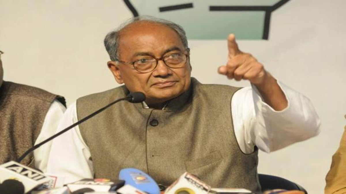 Bhopal: Constitutional bodies have become BJP's organisation, says Digvijaya Singh