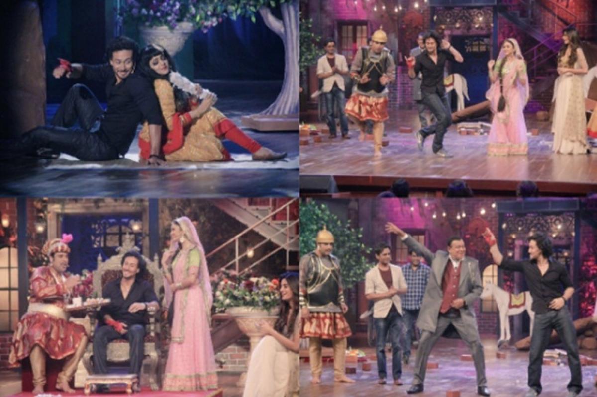 'The Drama Company' episode 1: 'Munna Michael' Tiger Shroff and Mithun Da display dancing skills