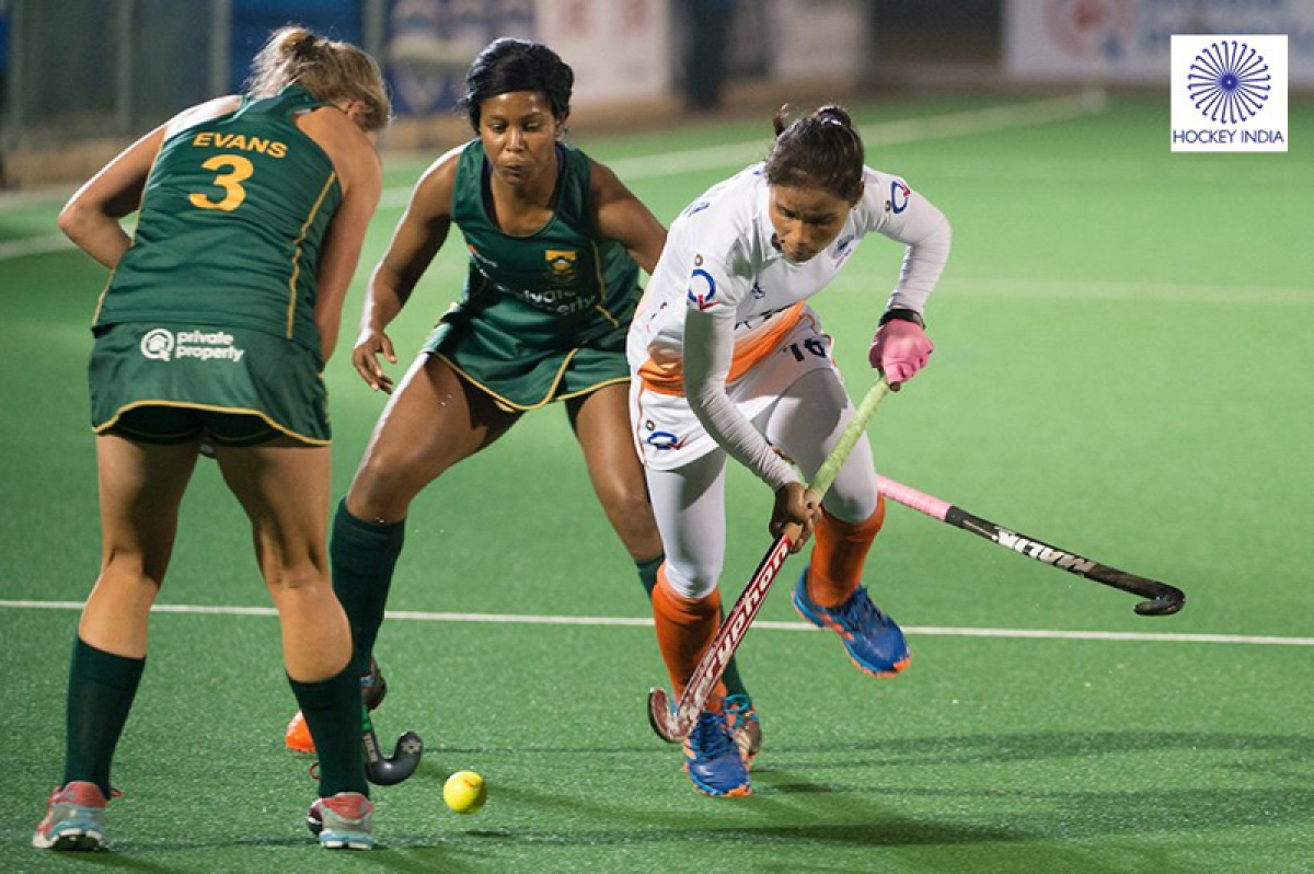 Indian women's hockey team hold S Africa 0-0