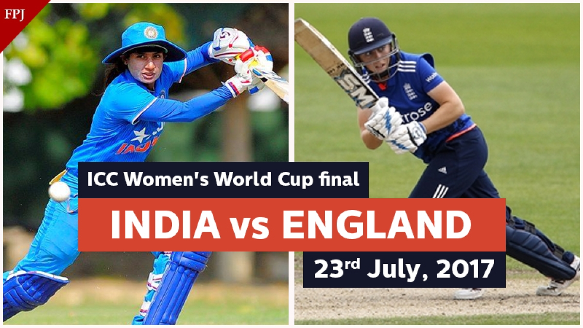 Live Scores: India vs England, ICC Women's World Cup final 2017, at Lord's
