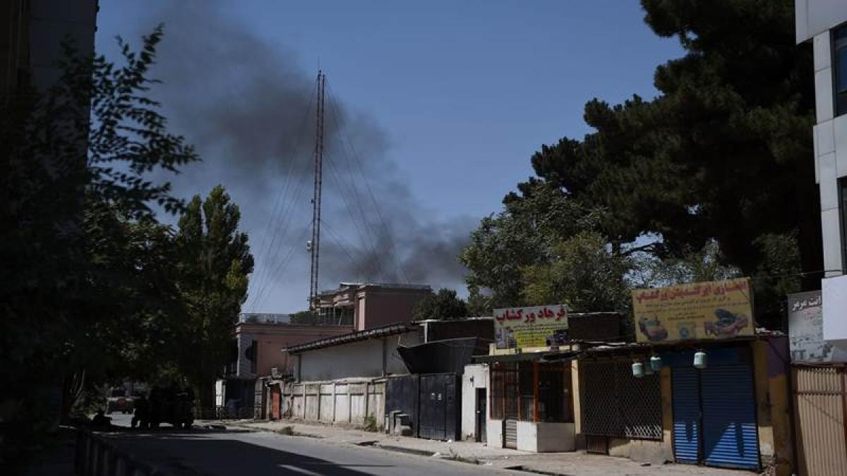 Explosions, gunfire hit Kabul, casualties feared