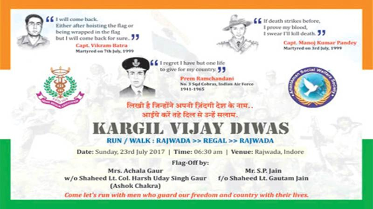 Vijay Diwas: Doctors to walk in memory of Kargil heroes