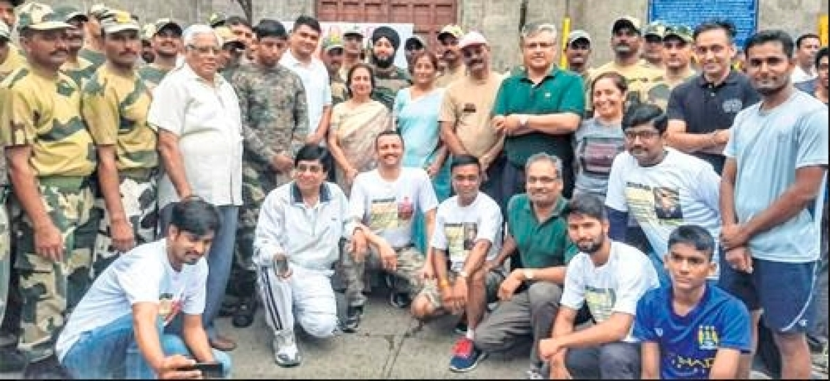 Indore: Citizens of all hues walk in memory of martyred soldiers