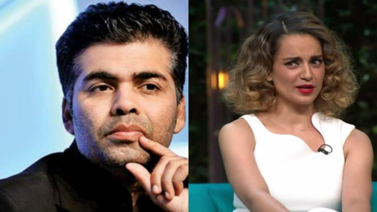 Nepotism rocks: Karan Johar gets back at Kangana again