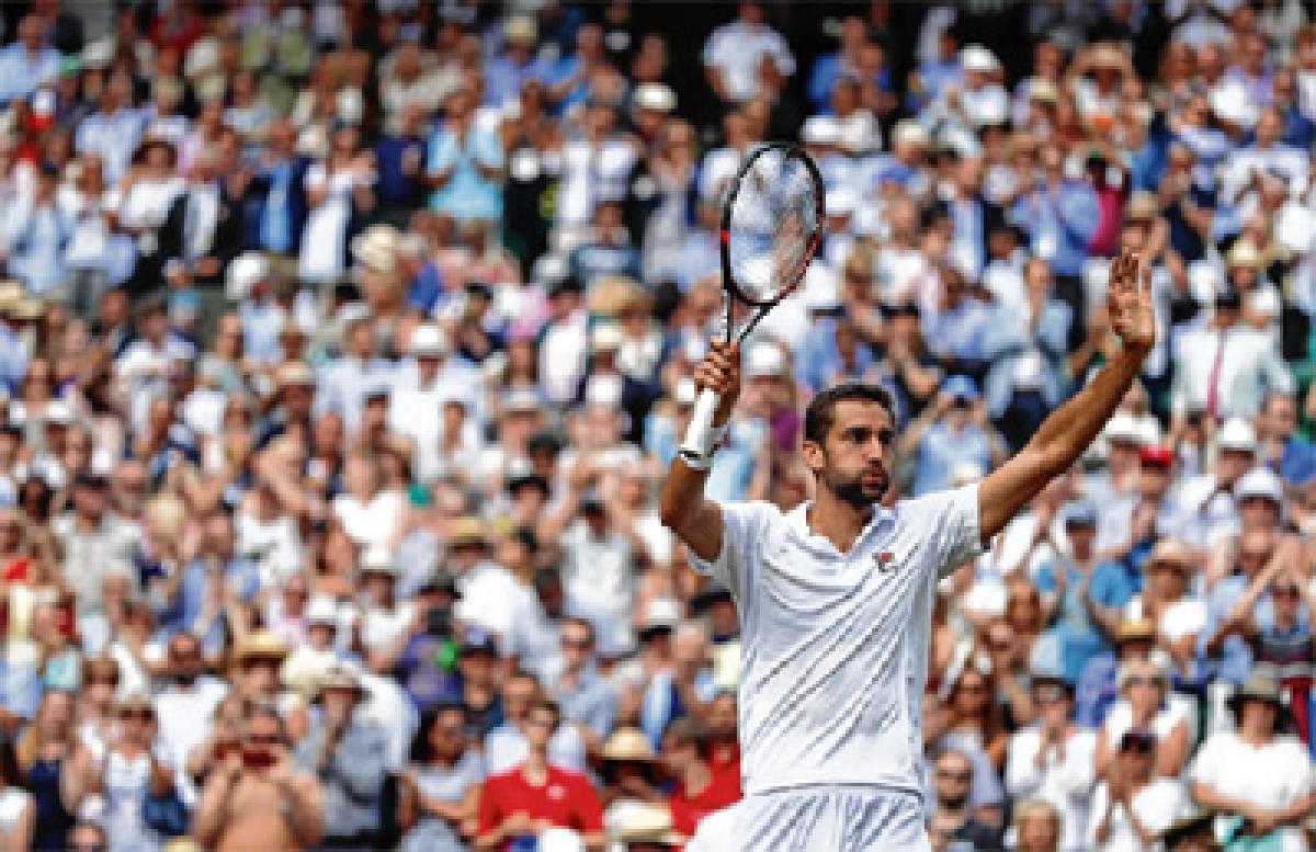 Marin Cilic into first Wimbledon final