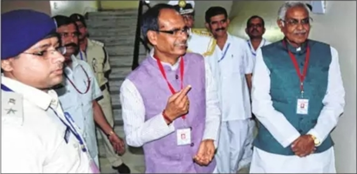 Bhopal: 228 MLAs cast vote amid tight security