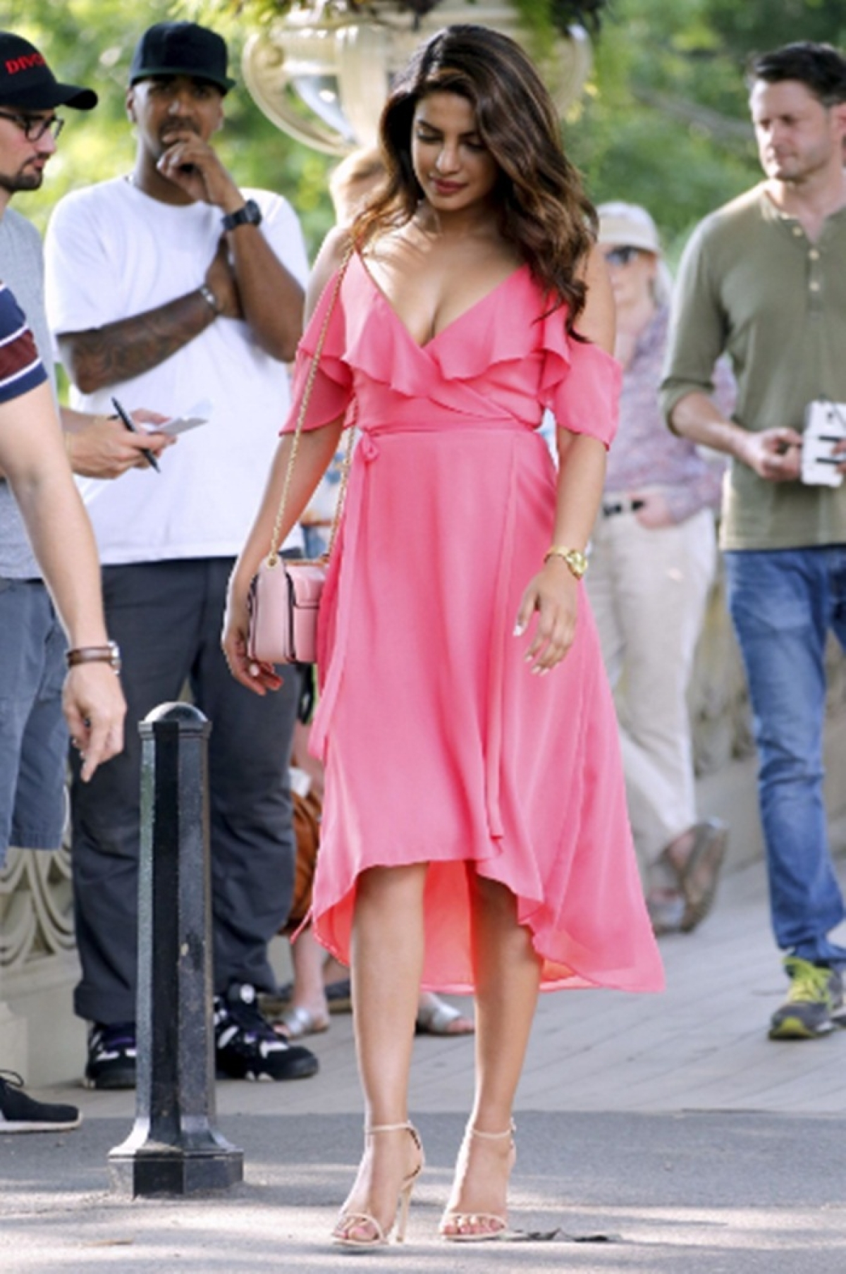 Wow! Priyanka Chopra's new picture from 'Isn't it Romantic' set is too sexy