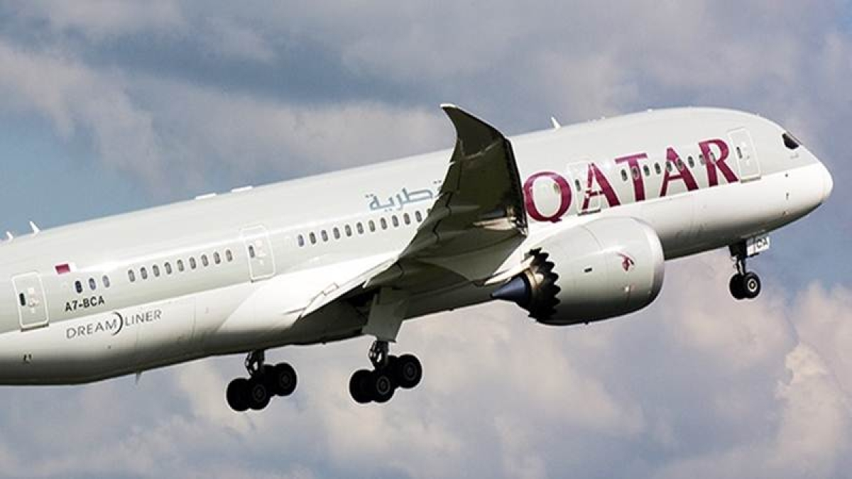 Qatar Airways special flight with 243 Canadians on board departs from Amritsar