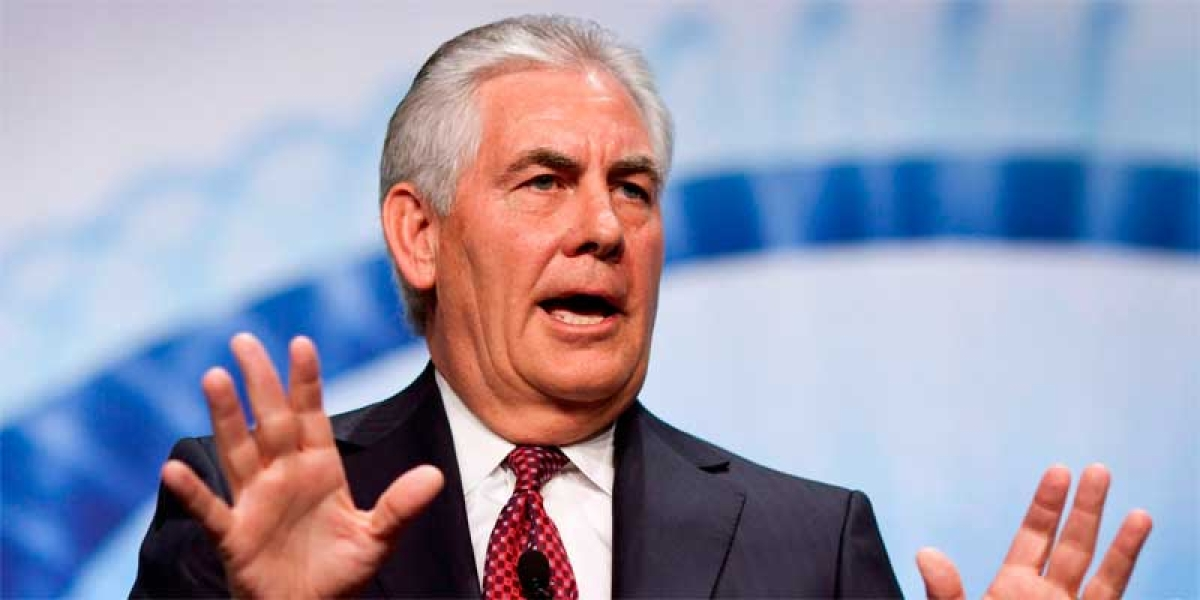 US Secretary of State Rex Tillerson denies reports of resignation